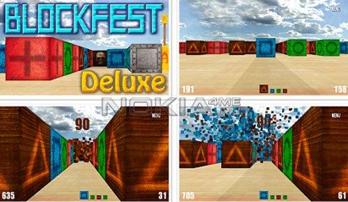 Blockfest Deluxe - Игра для Symbian^3 / Symbian 9.4