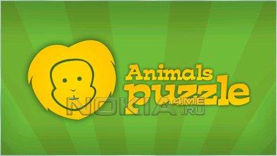 Паззл: Животные / Animals Puzzle - Игра для Symbian 9.4