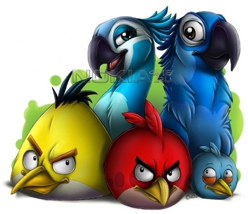 All Angry Birds - Игры для Symbian^3