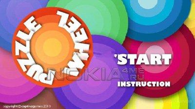 Puzzle Wheel / Колесо-Паззл - Игра для Symbian 9.4 / Symbian^3
