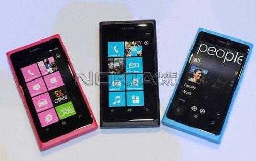 Nokia раздаст разработчикам 25 тыс. смартфонов Lumia 800