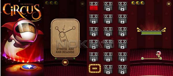 Incredible Circus - Игра для Symbian^3