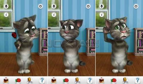 Talking Ted - Говорящий кот Тед для Symbian^3