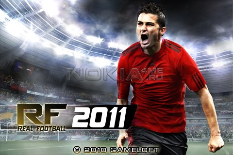 Real Football 2011 HD - Игра для Meego