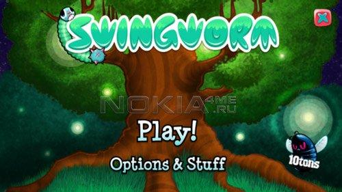 Swingworm - Игра для Symbian^3