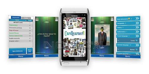 CardLearner - помощник для изучения ин.языка для Symbian 9.4