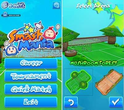 Smash Mania Игра для Symbian^3, Anna, Belle