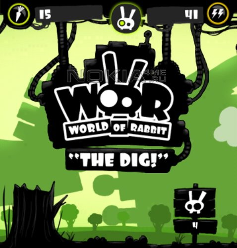 World Of Rabbit - The Dig - Игра для Meego