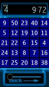 Speedtap50 - Логическая игра для Symbian^3