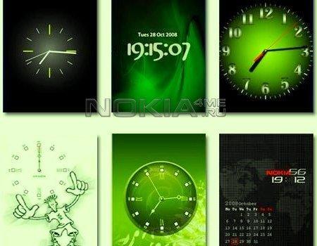 Флэш-часы для мобильного