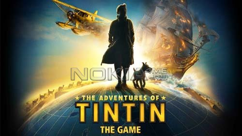 The Adventures of Tintin HD - Игра для Symbian Belle