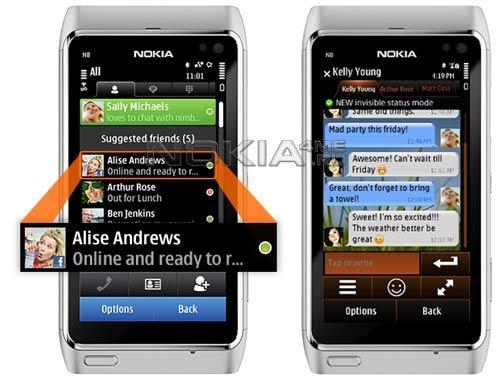 Nimbuzz - программа для Symbian