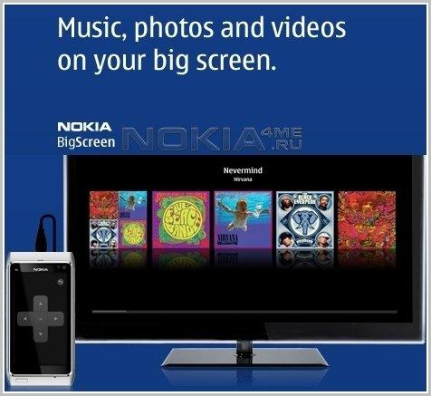 Nokia Big Screen - Медиапроигрыватель для Symbian^3