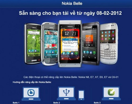 Релиз прошивок с Nokia Belle ожидается 8 февраля