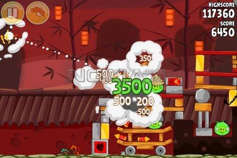 Angry Birds Seasons: Year of the Dragon - Игра для Symbian^3, Anna, Belle