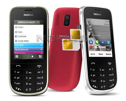 MWC 2012: Nokia Asha 202, Asha 203 и Asha 302 - 3 недорогих телефона