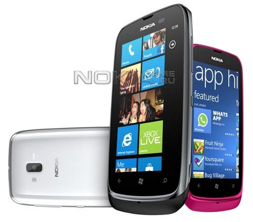 MWC 2012: Nokia Lumia 610 - доступный смартфон на Windows Phone