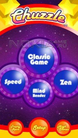 Chuzzle HD - Игра для Symbian^3, Anna, Belle