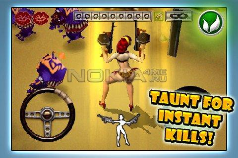 Daisy Mae's Alien Buffet - Игра для Windows Phone 7