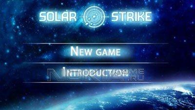 Solar Strike - игра для symbian ^3 , anna , belle