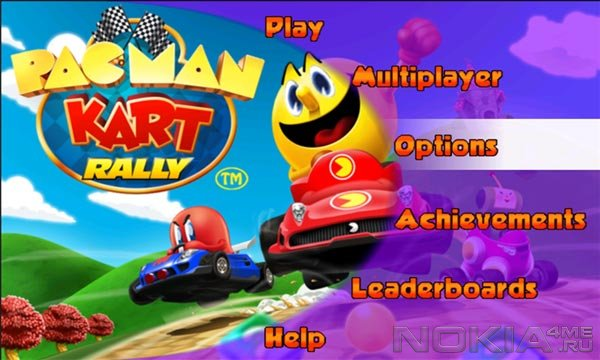 PAC-MAN Kart Rally - Игра для Windows Phone