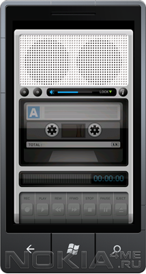 Tape Recorder - Диктофон для Windows Phone
