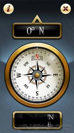 Compass Free - Компас для Symbian 9.4-^3