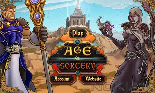 Age of Sorcery - MMO игра для Windows Phone 7