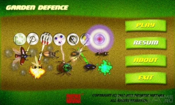 GardenDefence - Игра для Windows Phone 7.5 и выше