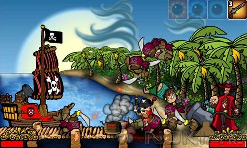 Pirate's Plunder - Игра для Windows Phone 7 и выше