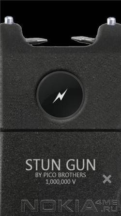 Stun Gun 1.0 (электрошокер) - программа для Symbian 9.4, Symbian^3