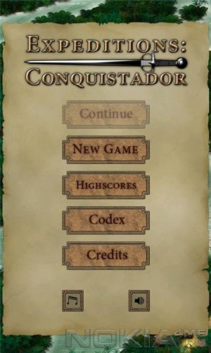 Conquistador - Игра для Windows Phone 7.5 и выше