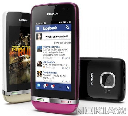 Nokia выпустила три бюджетных сенсорных телефона