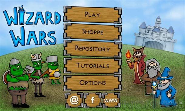Wizard Wars - Игра для Windows Phone 7.5 и выше