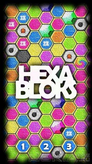HexaBloks - Игра для MeeGo