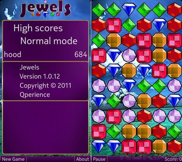 Jewels - Игра для MeeGo