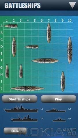Battleships - Игра для MeeGo