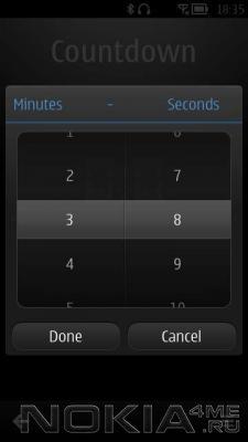 Timer - Таймер для Symbian^3 Anna,Belle