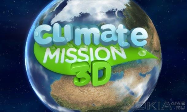Climate Mission 3D - Игра для Windows Phone 7