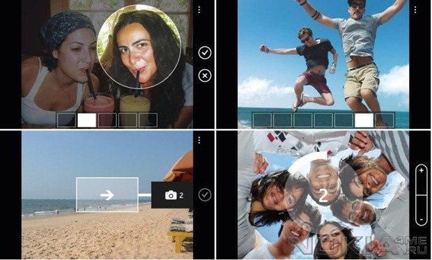 Camera Extras - Камера для Windows Phone 7