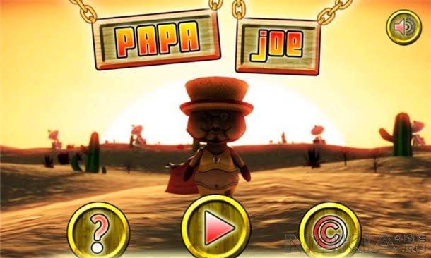 Papa Joe - Игра для Windows Phone 7.5 и выше