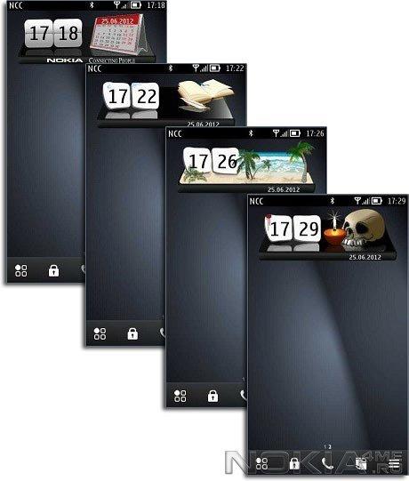 Сборник виджетов часов для Symbian^3, Anna, Belle