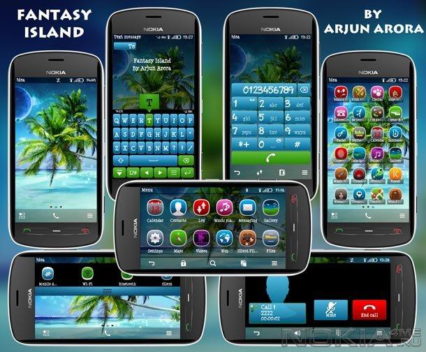 Nokia Темы Symbian 3