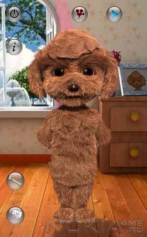 Talking Teddy - Говорящая собачка для Symbian