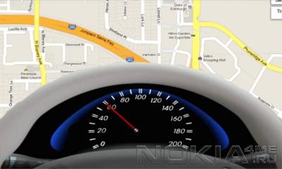 Map Speedo - Приложение для Windows Phone 7