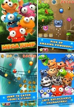 Mega Jump - Игра для Symbian Belle / Anna