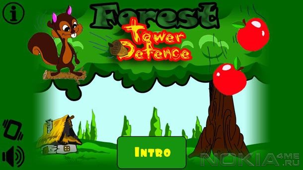 Forest Tower Defence - Игра для MeeGo