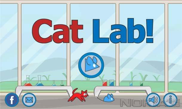 Cat Lab! - Игра для Windows Phone 7.5 и выше