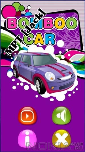 Bomboo Car by Fuzzycell - Игра для Symbian^3