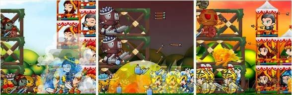 Dragon Manor Guard - Игра для Symbian^3 / Anna / Belle